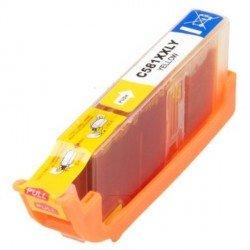 Cartouches PREMIUM de marque G&G compatibles Canon 1997C001 / 581 Y XXL - Cartouche d'encre jaune