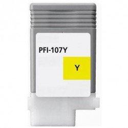 GENERIQUE Canon 6708B001 / PFI-107 Y - Cartouche d'encre jaune