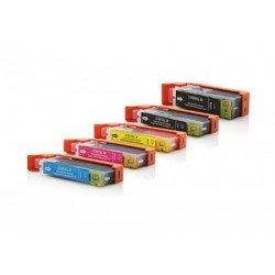 Pack de 5 GENERIQUES Canon PGI550XL/ CLI551XL - AVEC PUCE