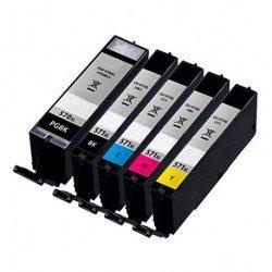 Pack de 5 GENERIQUES Canon PGI-570XL+CLI571XL (BK+CMY)