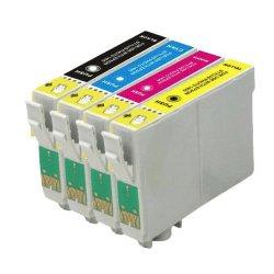 Pack de 4 cartouches compatibles Epson C13T02W64010 / 502X