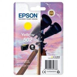 ORIGINAL Epson C13T02V44010 / 502 - Cartouche d'encre jaune