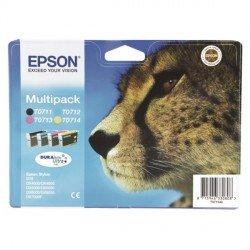 ORIGINAL Epson C13T07154012 / T0715 - Cartouche d'encre multi pack