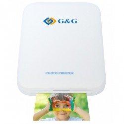 Imprimante photo de poche G&G - Imprimante ZINK (Zero-Ink)