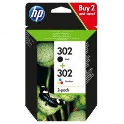 ORIGINAL HP X4D37AE / 302 - Cartouche d'encre multi pack