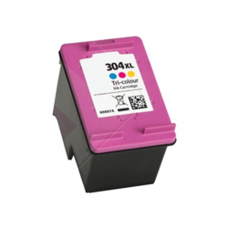 GENERIQUE HP N9K07AE / 304XL - Cartouche d'encre couleur