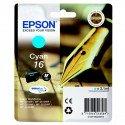 ORIGINAL Epson C13T16224012 / 16 - Cartouche d'encre cyan