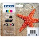 ORIGINAL Epson C13T03A64010 / 603XL - Cartouche d'encre multi pack