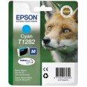 ORIGINAL Epson C13T12824012 / T1282 - Cartouche d'encre cyan