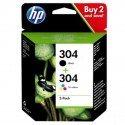 ORIGINAL HP 3JB05AE / 304 - Cartouche à tête d'impression multi pack